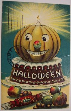 """jack o'lantern. reminds me of the movie """"meet me in st. louis."""" :)"""