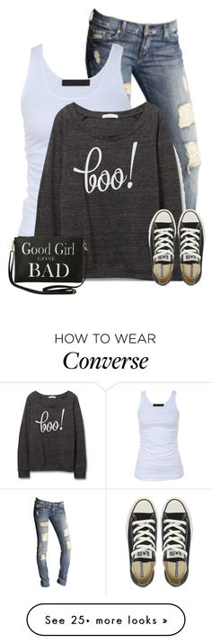 """""""Halloween Sweaters"""" by cindycook10 on Polyvore featuring 7 For All Mankind, Tusnelda Bloch, Converse and Torrid"""