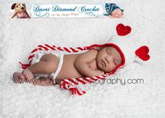 Heart Ears Earflap beanie photography prop any by desertdiamond, $20.00