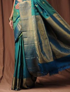 Over - Kanjivaram / Saree Store: Fashion Phulkari Saree, Kanjivaram Sarees Silk, Blue Silk Saree, Tussar Silk Saree, Kanchipuram Saree, Soft Silk Sarees, Cotton Saree, Engagement Saree