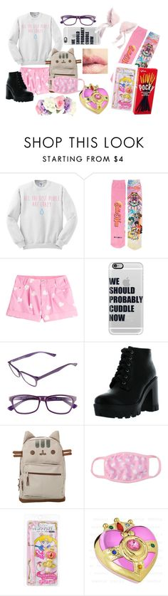 """""""Japan Tag"""" by chibiblue ❤ liked on Polyvore featuring Moschino, Casetify, Corinne McCormack and Bamboo"""