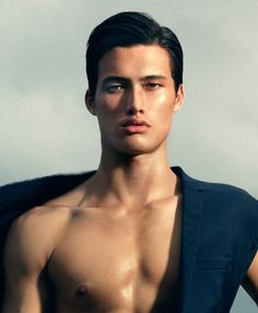 Half Korean, half white and Cherokee Charles Melton--simply known as Melton from his football benchwarming days--is an up-and-coming model who just walked his first runway at NYFW and has posed for the likes of Dolce and Gabbana
