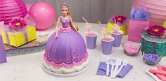 Disney Princess Rapunzel Doll Cake
