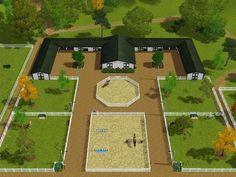 horse farm layout designs - Google Search