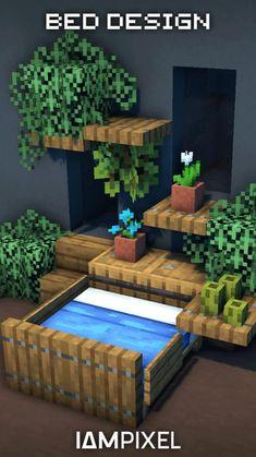 Minecraft House Plans, Minecraft House Tutorials, Cute Minecraft Houses, Minecraft City, Minecraft Room, Minecraft House Designs, Minecraft Construction, Amazing Minecraft, Minecraft Tutorial