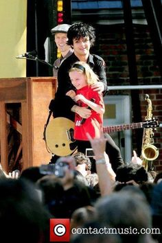 I love that he always brings the kids up onstage.