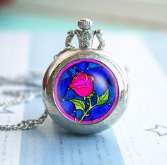 Hey, I found this really awesome Etsy listing at https://www.etsy.com/listing/195505999/beauty-and-the-beast-rose-vintage-pocket