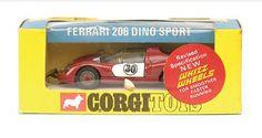 Mettoy Corgi diecast No.344 Ferrari 204 Dino Sport