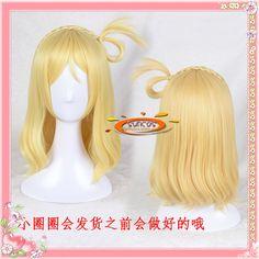 $16.00 (Buy here: https://alitems.com/g/1e8d114494ebda23ff8b16525dc3e8/?i=5&ulp=https%3A%2F%2Fwww.aliexpress.com%2Fitem%2FLove-live-sunshine-handmade-aqours-Ohara-Mari-small-roll-cosplay-wig-Gold-wavy-anime-hair%2F32705715257.html ) Love live  sunshine ! handmade aqours Ohara Mari  small roll cosplay  wig Gold wavy anime hair Heat resistance fibre+Cap for just $16.00