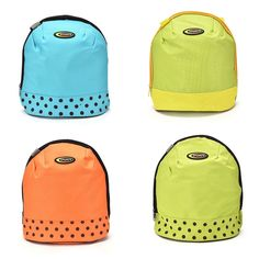 Cool Canvas Thermal Food Drinks Insulated Tote Lunch Bag Box Holder Handbag Cna