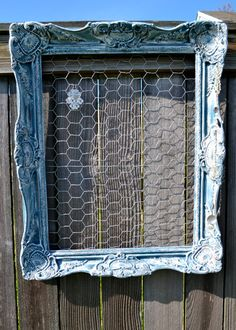 Chicken Wire Jewelry Frame