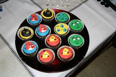 Angry Birds Cupcakes Angry Birds Cupcakes, My Love