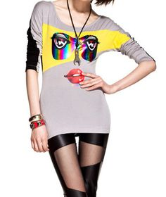 Gray Long Sleeve TShirt #CanadianOnlineShoppingHub #colouredcontacts #beautyshopping #cheapshopping #bestonlineshopping #ContactLenses #shopping #cheapclothing #cheapmakeup #makeupshopping #deals #onlineshopping #onlinedeals