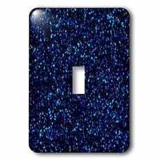 3dRose Print of Navy Blue Sequins, 2 Plug Outlet Cover