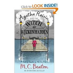 Agatha Raisin and the Witch of Wyckenhadden by MC Beaton. Another I've listened to this before, but just the thing to accompany working over the weekend.