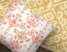 I pinned this from the Damask - Chic Rugs, Pillows, Wallpaper & More event at Joss and Main!