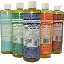 Use everywhere- Dr Bronners Castille soap. Almond or Baby is my favorite. Pure, clean, chemical free.