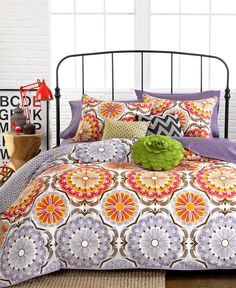 LOVE this bedding! Marigold 3 Piece Comforter and Duvet Cover Sets - Bed in a Bag - Macy's