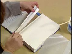 9. Repairing a broken hinge on a library book - Book Repair: The Stuff They Don't Teach You in Library School