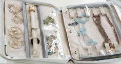 travel jewelry case interior