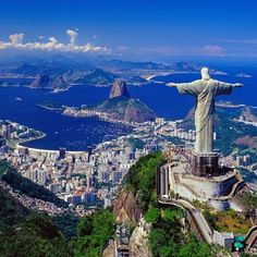 Cristo Redentor cerro del Corcovado Parque Nacional de la Tijuca Río de Janeiro Brasil.