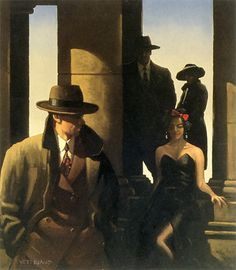 Ghosts From The Past - jack vettriano