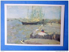 Arkhangelsk - After a painting by Valentin Serov White Sea, Painting, How To Paint, Cards, Painting Art, Paintings, Painted Canvas, Drawings