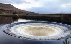 Ladybower Reservoir is a large Y-shaped reservoir, the lowest of three in the Upper Derwent Valley in Derbyshire, England.