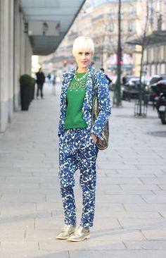 #kenzo #colors #fashion #mode #moda #women #paris #look #streetstyle #streetview #street #style #offcatwalk on #sophiemhabille