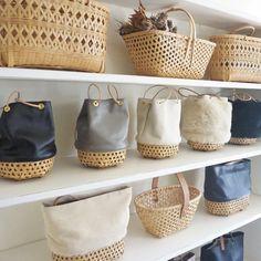 23 Clever DIY Christmas Decoration Ideas By Crafty Panda Ethnic Bag, Craft Bags, Basket Bag, Summer Bags, Handmade Bags, Basket Weaving, Bag Making, Straw Bag, Tote Bag