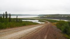 Tsiigehtchic, NWT, Canada, confluence of Mackenzie and Arctic Red River