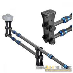 Buy Mini Jib Crane Carbon Fiber At Rs.19,000 Highlights :- Mini Jib supporting rod x1, Max.load :4kg, Folded lenght:85cm Cash on Delivery Hassle FREE To Returns Contact # (+92) 03-111-111-269 (BnW) #BnWCollections #Mini #Jib #Crane #Carbon #Fiber