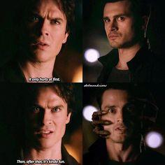 "#TVD 7x22 ""Gods & Monsters"" - Damon and Enzo"