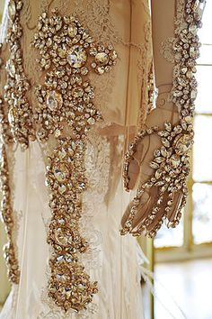 Givenchy jewel encrusted couture,gasp!!