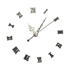 midnight_fantasy_clock_with_shadow.png ❤ liked on Polyvore featuring clock