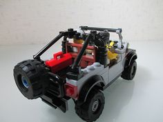 Auto repair and damage Jeep Jk, Scrap Mechanics, Lego Truck, Lego Car, Cool Lego, Awesome Lego, Cool Jeeps, Lego Projects, Jeep Wrangler Unlimited