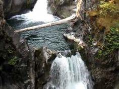 Little Qualicum Falls, near Parksville and Qualicum Beach on Vancouver Island