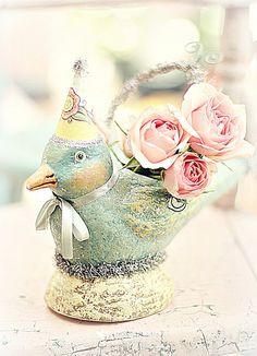 a little bird met rozen