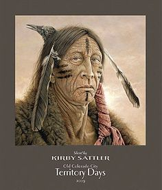 ccb2ce56cae Native American Art Posters. Kirby Sattler paintings. - NATIVE AMERICAN ART  PRINTS