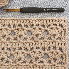 Different Crochet Stitches, Crochet Stitches For Blankets, Crochet Stitches Patterns, Stitch Patterns, Crochet Afghans, Unique Crochet Stitches, Knitting Patterns, Blanket Patterns, Sewing Patterns