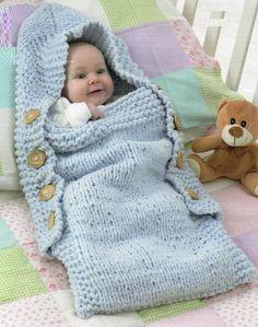 Baby Knitting Patterns Sleep Sack PDF Knitting Pattern Babies Sleeping Bag/Sack by TheKnittingSheep Baby Knitting Patterns, Knitting For Kids, Baby Patterns, Crochet Patterns, Baby Afghan Crochet, Crochet Bebe, Knitted Baby, Pull Bebe, Baby Pullover