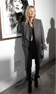 Kate Moss At The 'David Bailey: Bailey's Stardust' Private View at National Portrait Gallery, London - Tuesday 4 February | InStyle UK