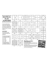 NAUTICAL FLAG ALPHABET Nautical Flag Alphabet, Nautical Flags, Naval Flags, Art Handouts, Make Build, Crafts To Make, School Ideas, Anchor, Typography