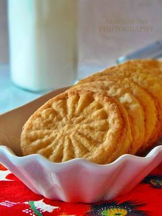 Los sabores de origen: galletas de naranja