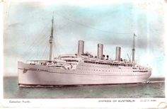 The Empress of Australia (from a postcard)