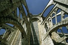 Flying Buttresses on Chartres Cathedral