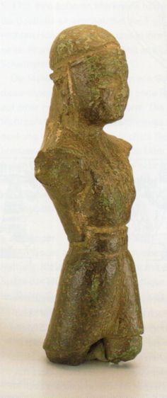 Hettite, metal God figurine, Afyon- Ahurhisar (Kutlu Emre)(Erdinç Bakla archive)
