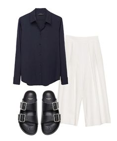 We are definitely in the mood for the cropped and wide pant. Discover more on The Wall at www.elin-kling.com