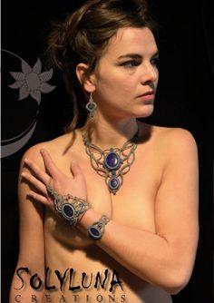 Micro Macramé, Macrame Necklace, Jewelry, Fashion, Collar Macrame, Weaving, Woman, Moda, Jewlery