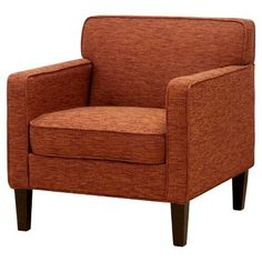 Cooper Arm Chair - Solids - Cartwright Tigerlily, $249.99